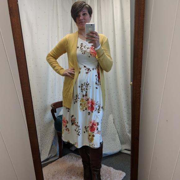 Dresses Plus Size Floral Pocket Dress Leggings 1x 2x Poshmark